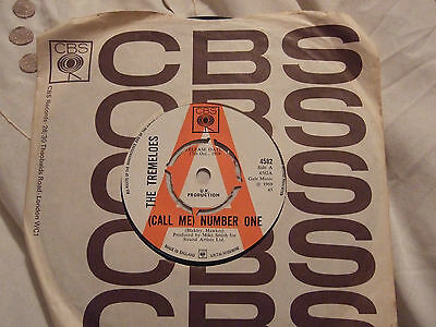 The Tremeloes Call Me Number One Cbs Promo Single