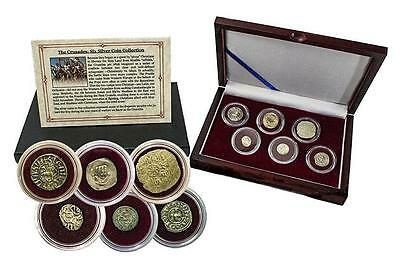 Crusader: Friends & Foes, Box of 6 SILVER  Medieval Coins- 200 years of Warfare