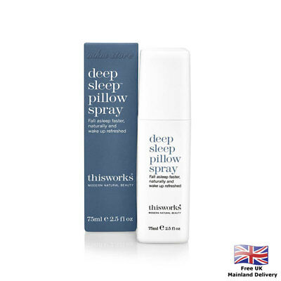 Deep Sleep Pillow Spray This Works Promotes Restful With Herbs Beauty DIY 75ml