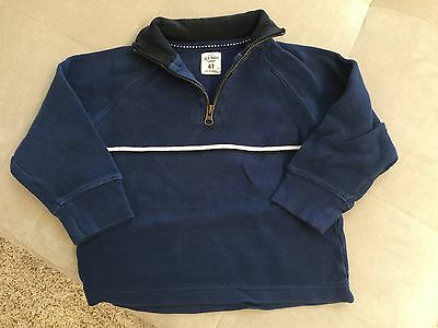Baby Boy Blue Cotton Sweater 4T Old Navy