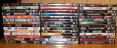 *** GREAT COLLECTION OF 42 x DVD'S - JOB LOT ***