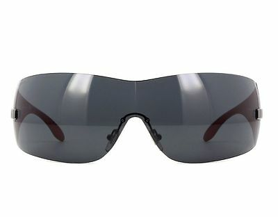 b9d089e5d00 NWT Versace Sunglasses VE 2054 1001 87 Black Red   Gray 41 mm VE2054 100187