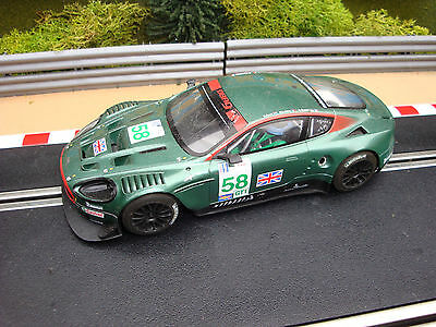 Well Used Unboxed Scalextric Digital Aston Martin Dbr9 With Lights