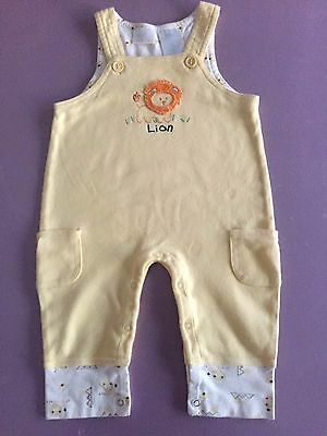 Overalls. Size 6/9 Months. Baby Connection Label.