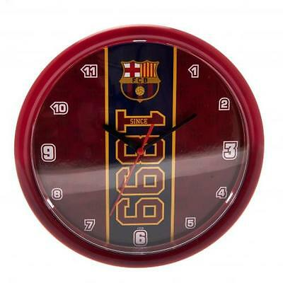 F.c. Barcelona Official Crested Wall Clock