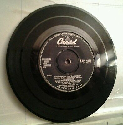 """Dean Martin and Jerry Lewis, EP From the Movie Pardners, 7"""" single,"""
