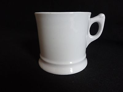 Antique White Alfred Meakin Royal Ironstone China  Shaving Mug Excellent