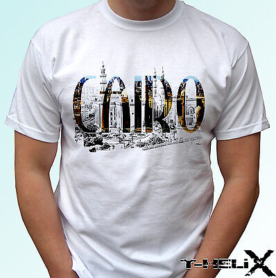Fly Cairo CAI Airport T-Shirt Egypt Air Airplane Airlines Kids XS-4XL Men