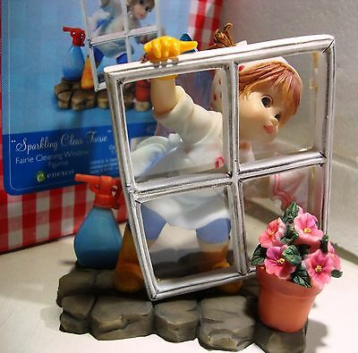 My Little Kitchen Fairies Sparkling Clear Fairie 2010 Cleaning Fairy # 4021016