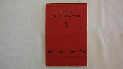1961 Edition - Indians of the Mesa Verde by Don Watson  MINT CONDITION