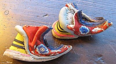 """Chinese shoes for """"bound feet"""" Genuine from Malaccan shoemaker"""
