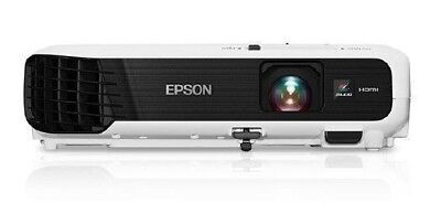 Epson VS240 LCD Projector - 4:3 - Front - 800 x 600 - SVGA - 3000 lm - V11H71922