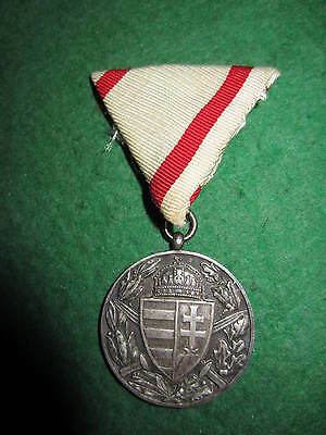 Ww1 Hungarian Commemorative Medal For Combatants