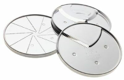CUISINART DLC-893 3-Piece Specialty DISC SET, Fits 7 and 11-Cup Processors