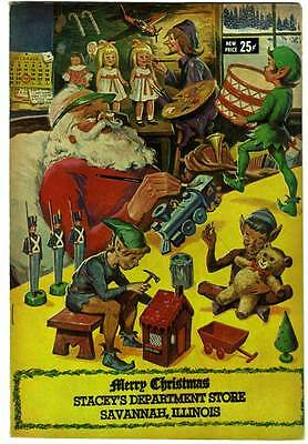 PROMO Comic RARE Published CLASSICS ILLUSTRATED Stacey's Store MERRY CHRISTMAS