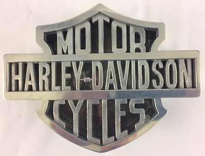 Harley Davidson 2 pc. Die Cast Ashtray & Container by Xonex