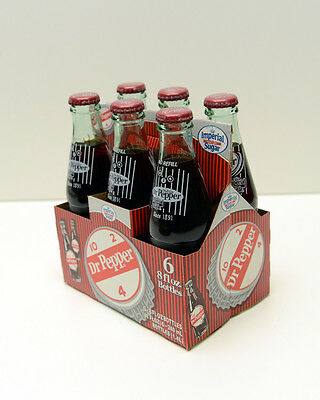 Dublin Dr Pepper  Cane Sugar 6 pack of Bottles with paper carrier