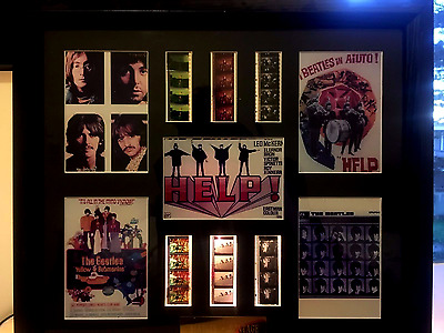 Limited Edition Beatles Montage Original Film Cells 219/500