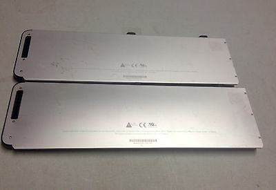 Lot of 2 MacBook Pro Rechargeable Battery A1281 For Parts AS IS