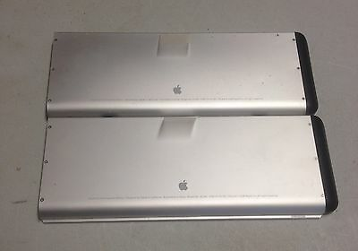 Lot of 2 MacBook Pro Rechargeable Battery A1280 For Parts AS IS