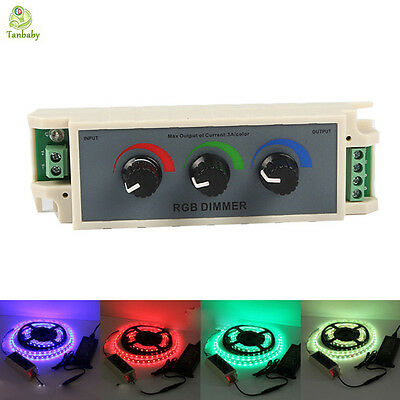DC12-24V rgb controller  3channel RGB led controller for led strip 3528 5050