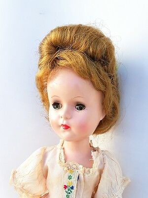 "Vintage Early C. 1950 Sweet Sue Doll 16"" Hard Plastic by Arranbee"