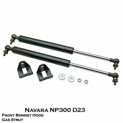 For Nissan Navara NP300 D23 2015UP Fits Front Hood Bonnet Gas Shock Strut Damper