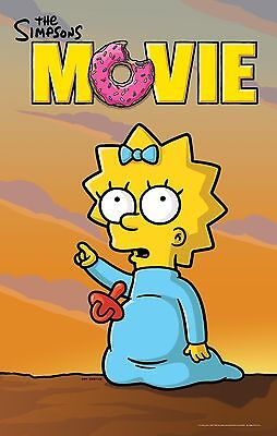 "The Simpsons Movie Movie Poster 18"" x 28"" ID:4"