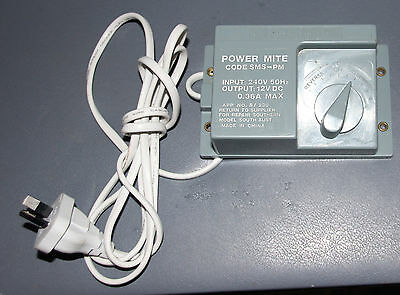 Power Mite Code SMS-PM Railway Transformer & controller with assessories outlet