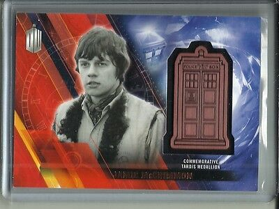 Jamie McCrimmon 2016 Topps Doctor Who Commemorative Tardis Medallion #052/150