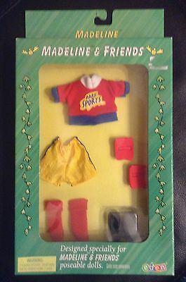 Madeline & Friends 1999 Doll Outfit Clothes By Eden