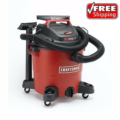 Craftsman Wet Dry Vac 9 Gallon Vacuum Cleaner 4 Peak HP Portable Shop Blower