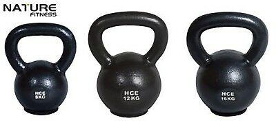 Nature Fitness 8 12 16kg Package Russian Classic Steel Kettlebell Gym Weights