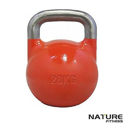 Nature fitness 28kg Competition Kettle Bell Training Weight Fitness Exercise