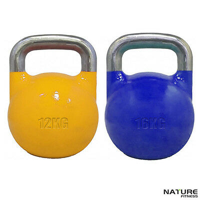 Nature Fitness 12kg & 16kg Package Competition Pro Grade Kettlebell Equipment