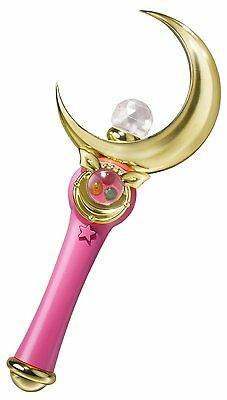 Officially Licensed Sailor Moon Crescent Moon Stick Wand Proplica by Bandai