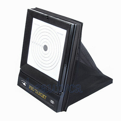 Shooting Target with Net Catcher for BB Airsoft Air Rifle