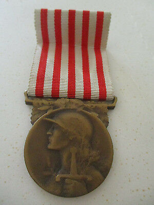 France 1914-1918 War Medal Rare Maker Allies to the ANZACS in WW1