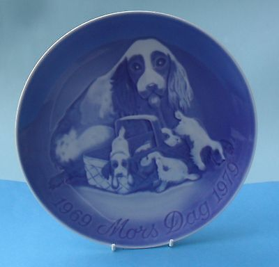 Bing & Grondahl 1969-1979 Mother's Day Plate