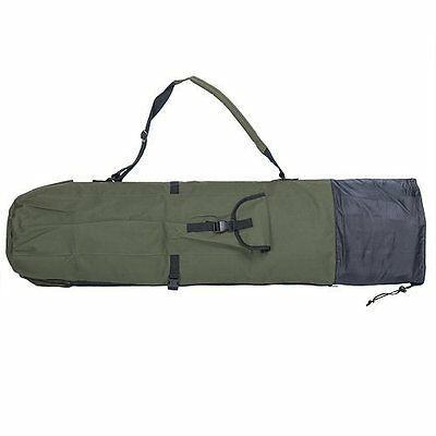 New Fishing Rod Case Organizer Portable Carry on Fishing Rod Holder Bag Green