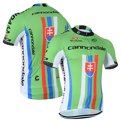 Team Mens Cycling Short Sleeve Jersey Wear Shirt Sweater Maillots Tops Uniforms