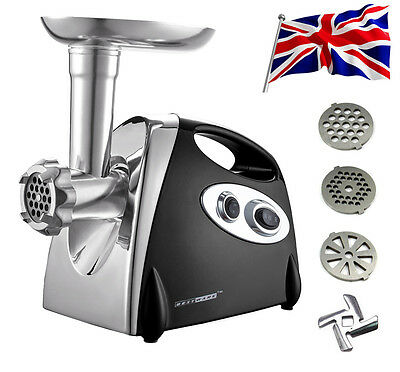 2800W Electric Meat Grinder Slicer Food Mincer Crusher Sausage Maker Filler