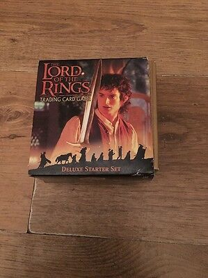 Lord Of The Rings Trading Card Game Deluxe Starter Set