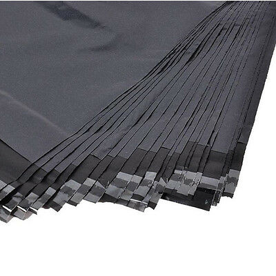 Dark Grey 25 pcs 25x35 cm Postage Bags / Mail-Order Bags - Self-Seal - Recycled