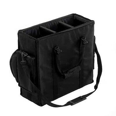 Studio Light Bag with dividers for 3 Heads Strobes Lights Heavy Duty Pro