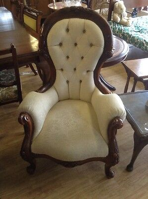 Arm Chair, Very Ornate Nursing Chair             FREE UK MAINLAND DELIVERY