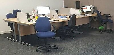 10 Office Desks And Chairs Job Lot