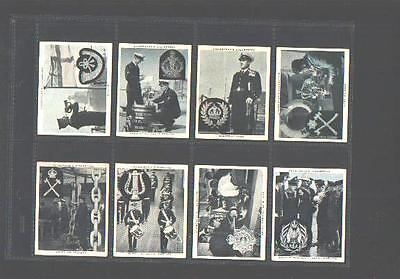 cigarette cards the navy at work maritime 1937 full set