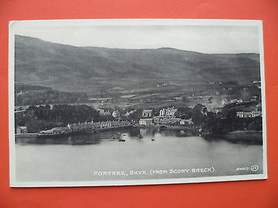 Isle of Skye: Portree from Scory Breck