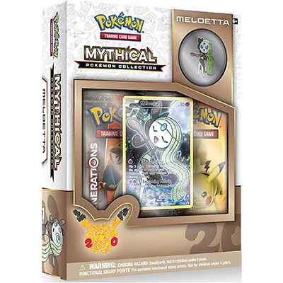 Pokemon TCG Mythical Collection Meloetta Pin Box